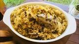 machbous   spiced lamb with rice