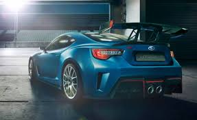2018 subaru brz sti. wonderful subaru 2018 subaru brz sti rear angle throughout subaru brz sti a