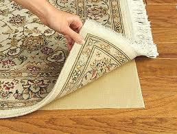 rubber rug best pad for hardwood floors in light brown and beige modern pads rug pad for hardwood floors