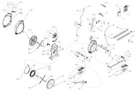 schwinn airdyne cycling parts fitness exercise bike parts click here to open a full size version of the diagram