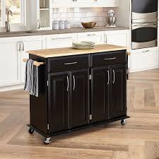 Amazon.com - Home Styles 4528-95 Dolly Madison Kitchen Cart, Black ...