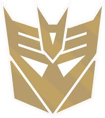 Golden Decepticon logo by rodriguis on DeviantArt | Transformers ...