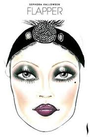 flapper face chart created by talented sephora artists