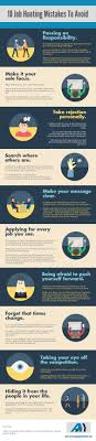 body language interview mistakes infographic best infographics 10 job hunting mistakes to avoid infographic