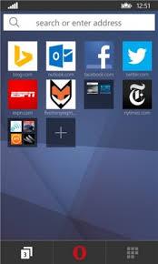 Because newer is not always bett Opera Brings Mini Browser To Windows Phone Phone Scoop