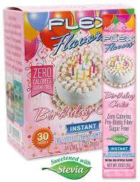 Flex Flavors Birthday Cake