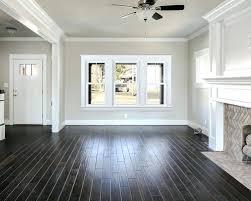 Dark Wood Floor Living Room This Much More Modern Living Room Has