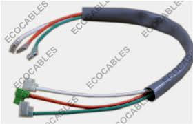 pvc tube electrical wiring harness for air conditioner compressor