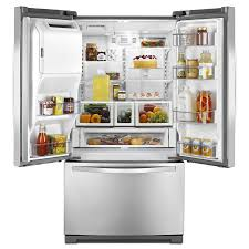 Kitchen Appliance Shop Shop Whirlpool 247 Cu Ft French Door Refrigerator With Single Ice