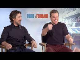 Ford V Ferrari Interviews Matt Damon Christian Bale James Mangold Jon Bernthal Tracy Letts Youtube