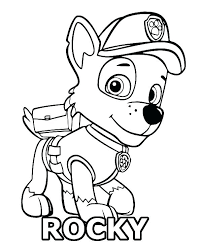 Quirky Coloring Pages Paw Patrol O7881 Unusual Coloring Pages Paw