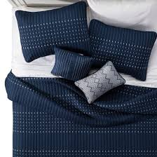 Navy Blake Microfiber Embroidered Multiple Piece Quilt Set - 5-pc ... & Navy Blake Microfiber Embroidered Multiple Piece Quilt Set - 5-pc Adamdwight.com