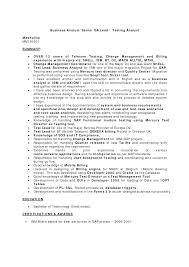 Senior Qa Analyst Resume Qa Analyst Resume Samples Visualcv Resume