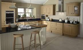Second Nature Kitchen Doors Milbourne Oak Classic Kitchen