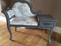 Vintage Telephone Tables  GUIDE VINTAGE FURNITURE  Vintage Telephone Bench Seat