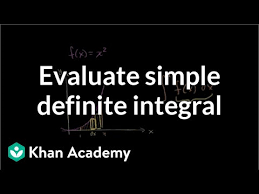 Area Between A Curve And The X Axis Video Khan Academy