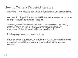 How to write duties and responsibilities in resume Connect Norway