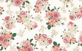 Vintage Floral Print Vintage Flower Wallpaper Group With 68 Items