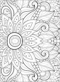 coloring flowers flower color pages 2 spring pictures of