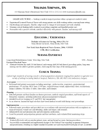 New Nurse Resume Examples Sample Nursing Resume New Graduate Nurse