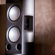 klipsch used speakers. close your eyes and watch. klipsch used speakers