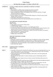 Download Grocery Stocker Resume Sample as Image file