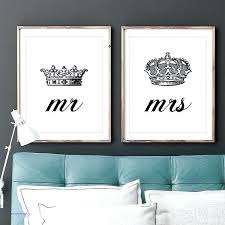 his and hers crown wall decor king and queen crown wall decor inspirational set of two