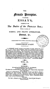 best regency education images regency basket  the female preceptor essays on the duties of the female sex conducted by a