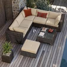 decking furniture ideas. Kensington Corner Sofa Set Rattan Outdoor Garden Furniture Decking Ideas A