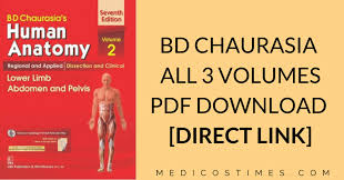 Bd Chaurasia Human Anatomy Pdf Free Download All Volumes