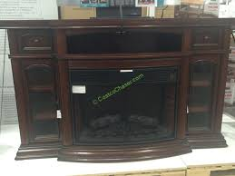 ember hearth electric fireplace 70 a console costcochaser electric outdoor fireplace costco design