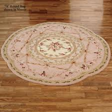 Touch Of Class Leila II Aubusson Round Rug