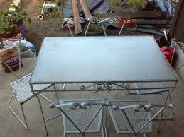 vintage wrought iron table. Interesting Vintage Image Of Iron Outdoor Furniture Bar For Vintage Wrought Iron Table