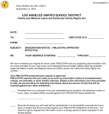 Los Angeles Unified School District Policy Bulletin Pdf