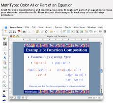 colour all or part of an equation