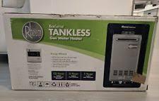 rheem outdoor tankless water heater. rheem 6.4 gpm ecosense natural gas mid efficiency outdoor tankless water heater rheem