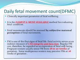 Fetal Kick Chart Pdf Reduced Fetal Movement
