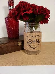 Decorating With Mason Jars And Burlap mason jar burlap wedding centerpieces iPunya 22