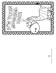 printable coloring birthday cards printable coloring birthday