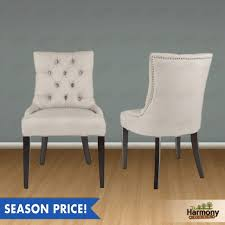 nailhead dining chairs dining room. Dining Room: Crafty Tufted Nailhead Chair Grey High Back Chairs Room From S