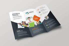 Tri Fold Samples 17 Education Trifold Brochure Examples Psd Ai Apple