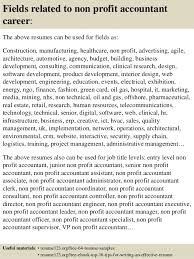Resume For Accountant Sample Best of Top 24 Non Profit Accountant Resume Samples