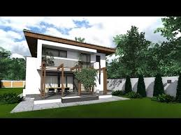 Prosperito  Single Attached Two Story House Design With Roof Deck Two Storey Modern House Designs