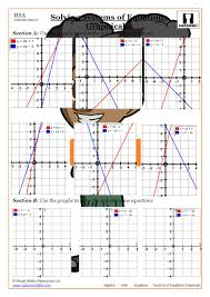 solving systems of equations graphically
