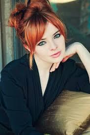 Redhead Beauty 50 Shades Of Red účesy Barvy Na Vlasy A