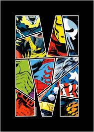 classic marvel comic book superhero rug