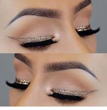 gold glitter eye makeup awesome by pins for las on september 6 2018 0