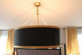 oversized drum shade chandelier and black drum chandelier and drum chandeliers contemporary