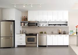 pictures of white kitchens with stainless steel appliances 2016