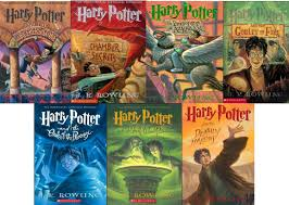 8 the harry potter series by j k rowling